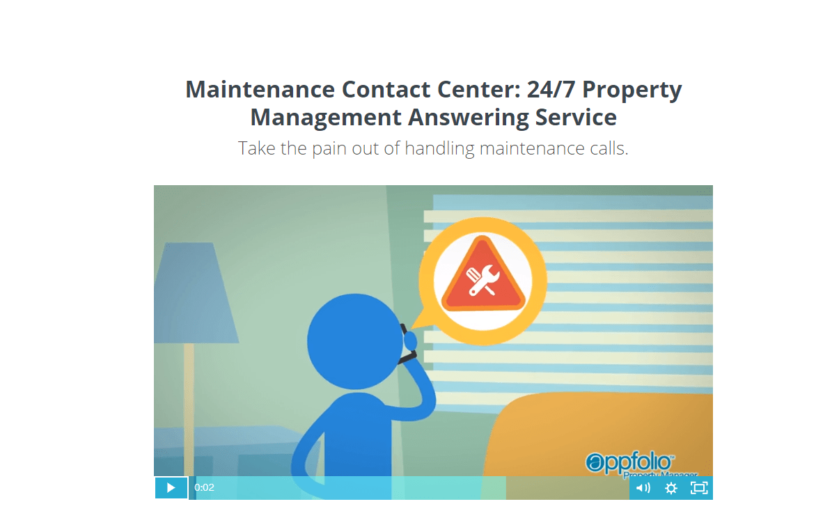 Maintenance Contact Center: 24/7 Property Management Answering Service