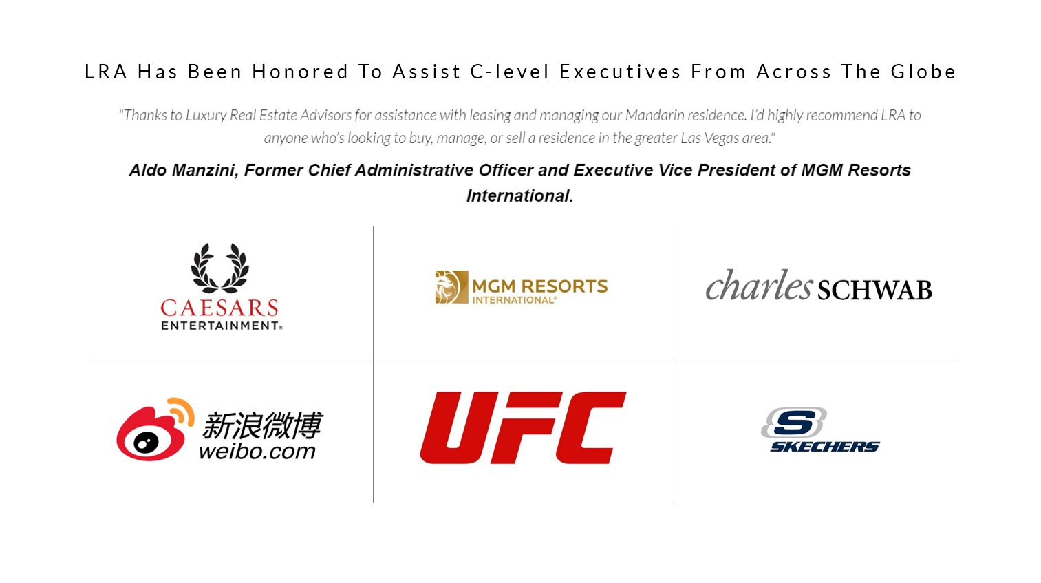 Luxury Real Estate Advisors Clients