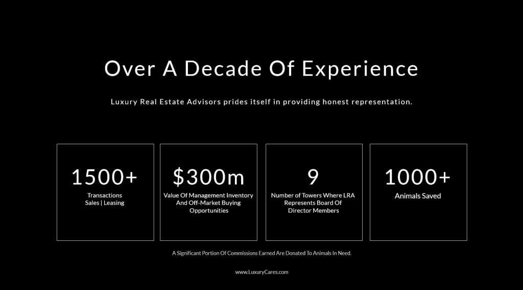 Luxury Real Estate Advisors Experience