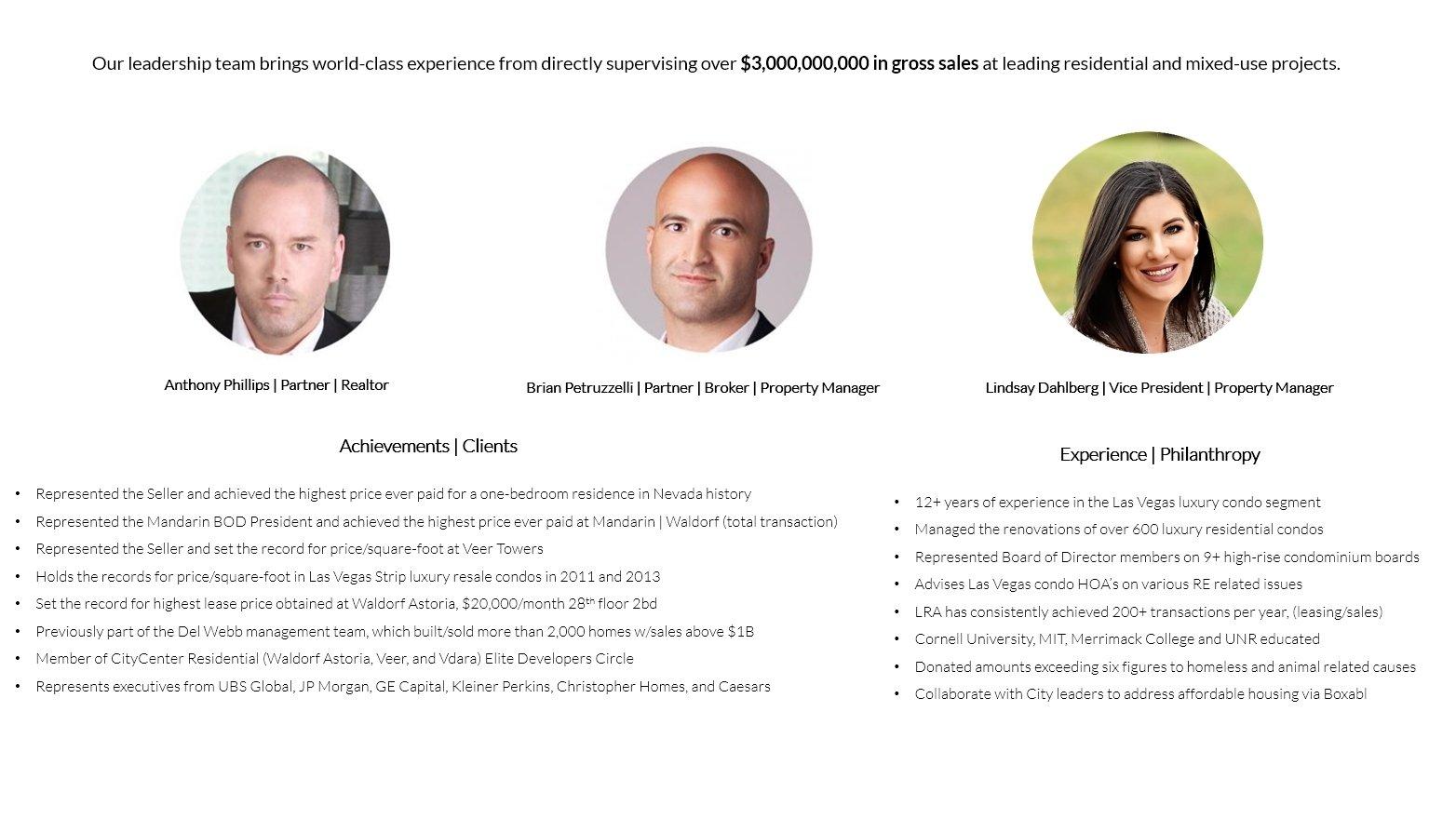 Luxury Real Estate Advisors Las Vegas Anthony Phillips